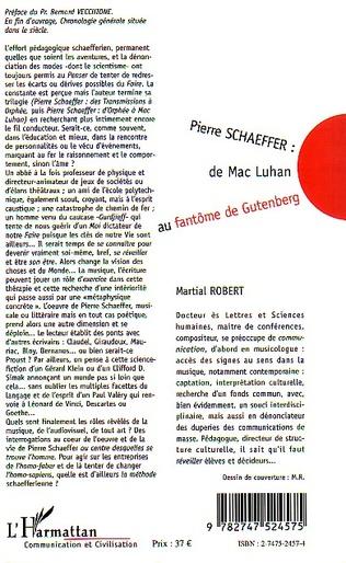 4eme PIERRE SCHAEFFER : DE MAC LUHAN AU FANTÔME DE GUTENBERG