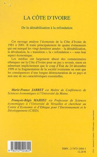 4eme LA CÔTE D'IVOIRE