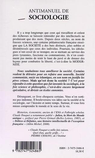 4eme ANTIMANUEL DE SOCIOLOGIE
