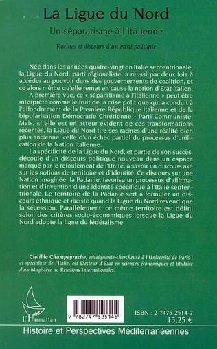 4eme LA LIGUE DU NORD, UN SÉPARATISME À L'ITALIENNE