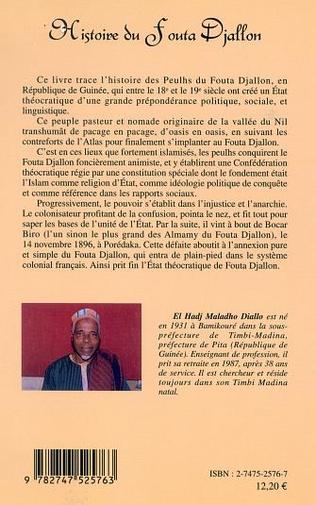 4eme HISTOIRE DU FOUTA DJALLON