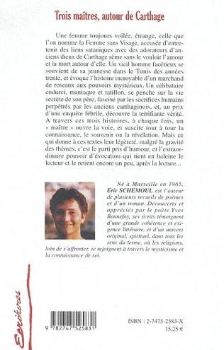 4eme TROIS MAÎTRES AUTOUR DE CARTHAGE