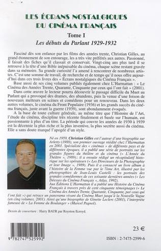 4eme LES ÉCRANS NOSTALGIQUES DU CINÉMA FRANÇAIS