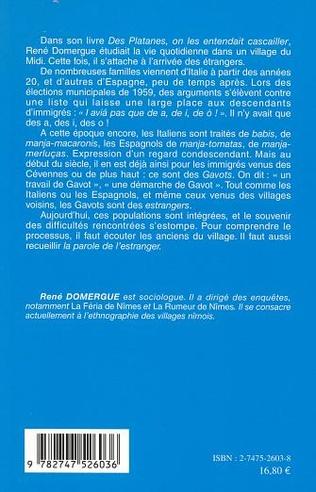 4eme LA PAROLE DE L'ESTRANGER