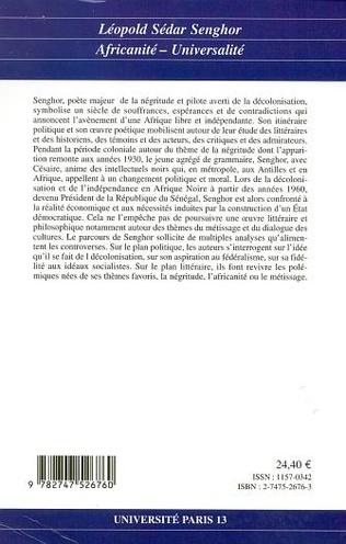 4eme Léopold Sédar Senghor (31 bis)