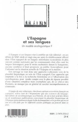 4eme L'ESPAGNE ET SES LANGUES