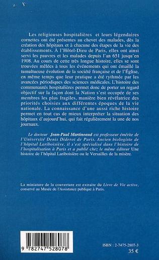 4eme LES ORDRES RELIGIEUX DANS LES HÔPITAUX DE PARIS