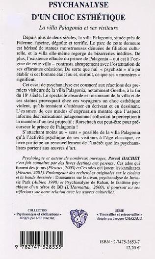 4eme PSYCHANALYSE D'UN CHOC ESTHÉTIQUE
