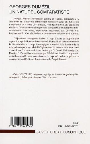 4eme GEORGES DUMÉZIL, UN NATUREL COMPARATISTE