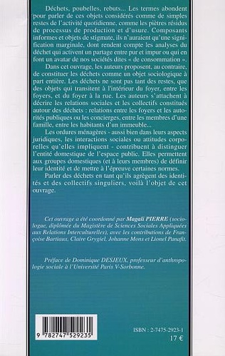 4eme LES DÉCHETS MÉNAGERS, ENTRE PRIVÉ ET PUBLIC