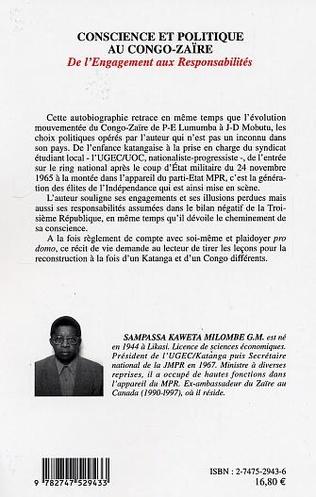 4eme Conscience et politique au Congo-Zaïre