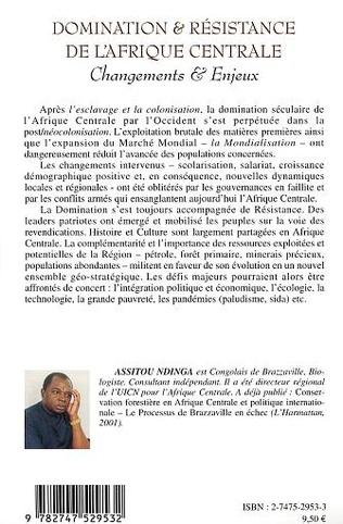 4eme DOMINATION ET RESISTANCE DE L' AFRIQUE CENTRALE