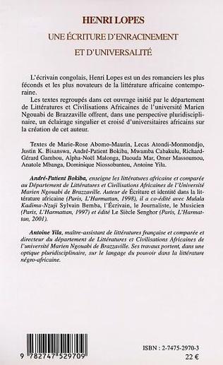 4eme Henri Lopes