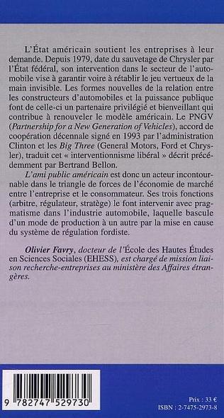 4eme L'AMI PUBLIC AMÉRICAIN
