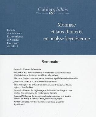 4eme MONNAIE ET TAUX D'INTÉRÊT EN ANALYSE KEYNÉSIENNE
