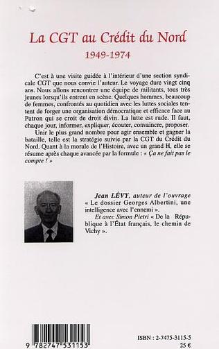 4eme La CGT au Credit du Nord (1949-1974)