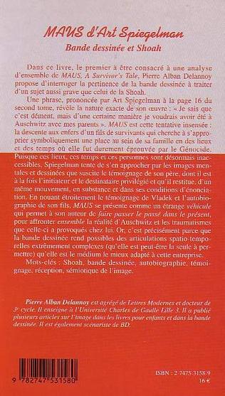4eme MAUS D'ART SPIEGELMAN