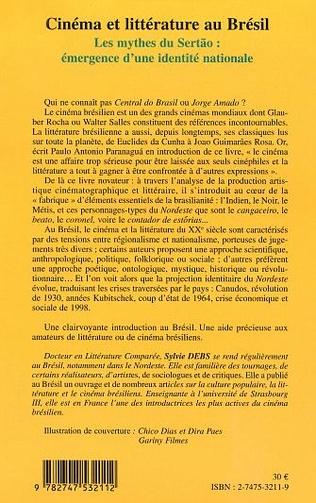 4eme CINEMA ET LITTERATURE AU BRESIL