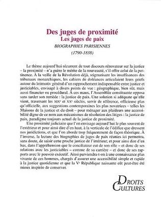 4eme DES JUGES DE PROXIMITÉ
