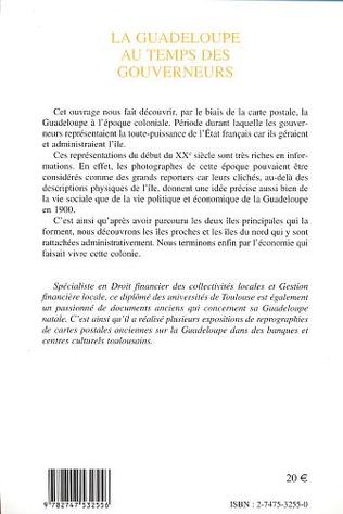4eme LA GUADELOUPE AU TEMPS DES GOUVERNEURS