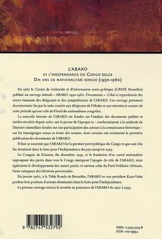 4eme L'Abako et l'indépendance du Congo belge