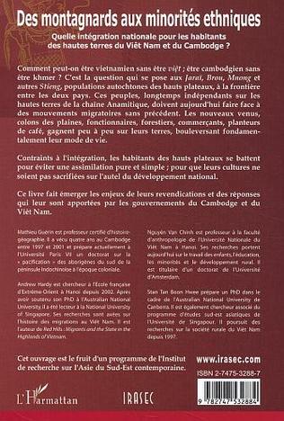 4eme Des montagnards aux minorités ethniques