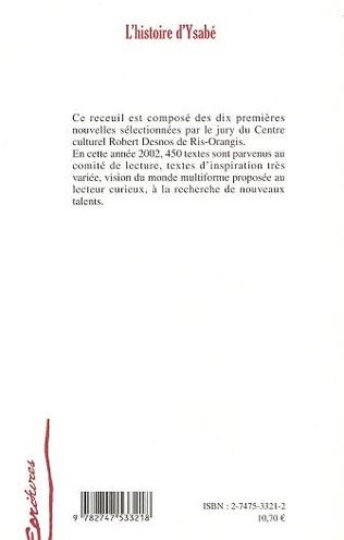 4eme L'HISTOIRE D'YSABÉ