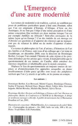 4eme L'EMERGENCE D'UNE AUTRE MODERNITE