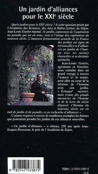 4eme JARDIN D'ALLIANCES POUR LE XXIe SIÈCLE