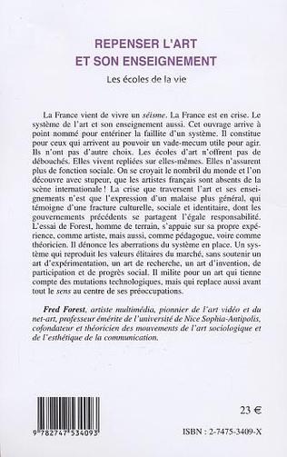 4eme REPENSER L'ART ET SON ENSEIGNEMENT