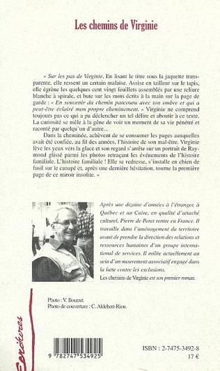 4eme CHEMINS DE VIRGINIE