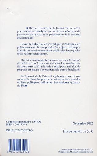 4eme PACEM IN TERRIS, ACTUALITE D'UNE ENCYCLIQUE