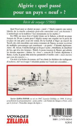 4eme Algérie : quel passé pour un pays neuf