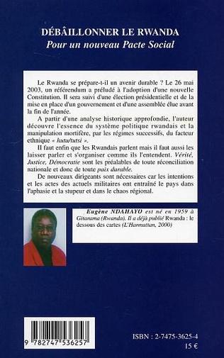 4eme Débâillonner le Rwanda