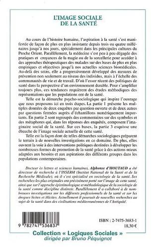 4eme L'IMAGE SOCIALE DE LA SANTE