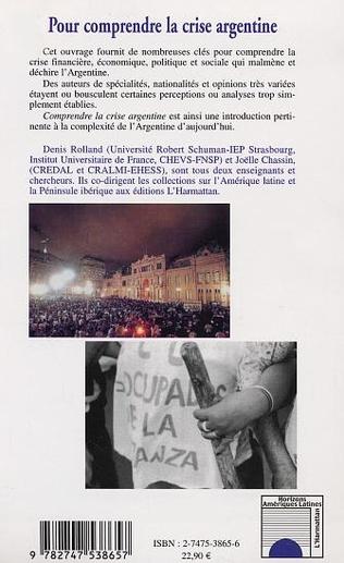 4eme POUR COMPRENDRE LA CRISE ARGENTINE