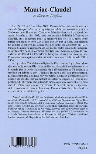4eme MAURIAC-CLAUDEL
