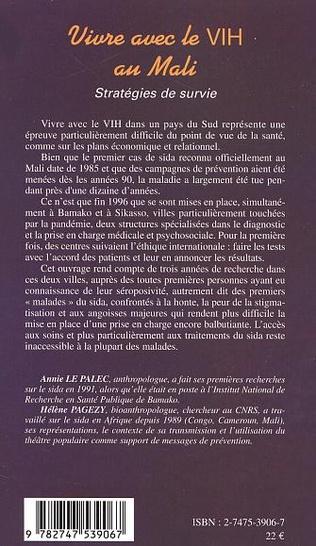 4eme VIVRE AVEC LE VIH AU MALI