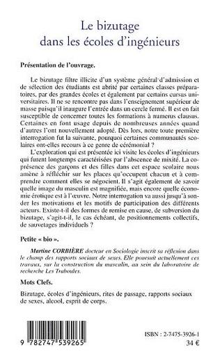 4eme LE BIZUTAGE DANS LES ECOLES D'INGENIEURS