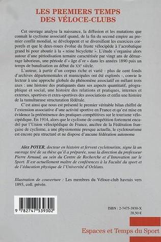 4eme LES PREMIERS TEMPS DES VELOCE-CLUBS