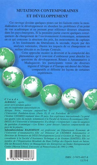 4eme Mutations contemporaines et développement