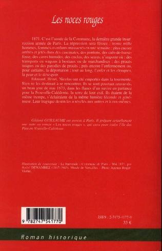 4eme Les noces rouges
