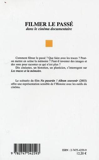 4eme FILMER LE PASSE DANS LE CINEMA DOCUMENTAIRE