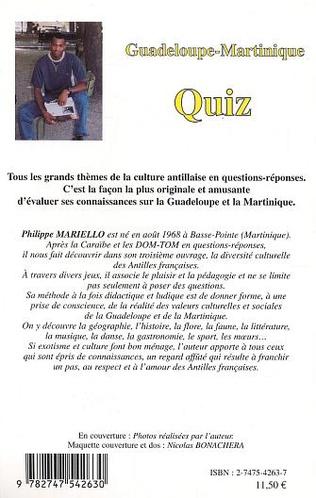 4eme Guadeloupe-Martinique - Quiz