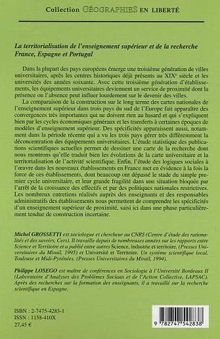 4eme La territorialisation de l'enseignement supérieur et de la recherche