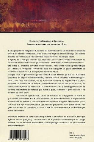 4eme Ordre et désordre à Kinshasa (n°61-62)