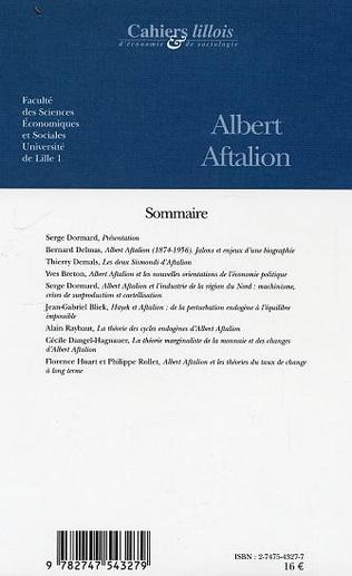 4eme Albert Aftalion