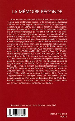 4eme La Mémoire féconde