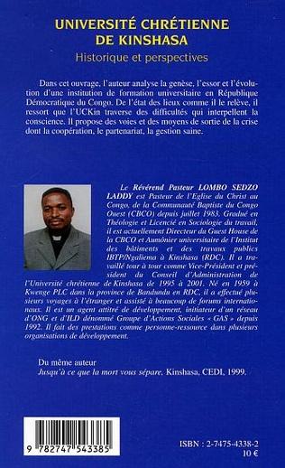 4eme Université chrétienne de Kinshasa
