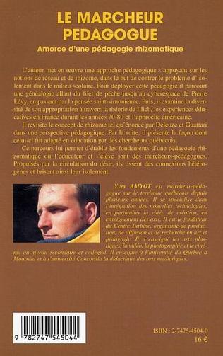 4eme Le marcheur pédagogue
